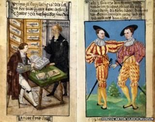 primeiro 'livro de moda' (foto: Herzog Anton Ulrich-Museum)