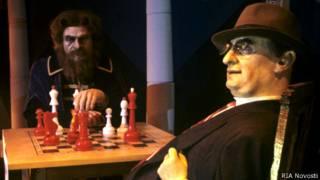Восковые фигуры Лаврентия Берии и Малюты Скуратова