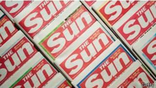Логотип газеты Sun
