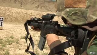 افغان ښځینه کومانډو