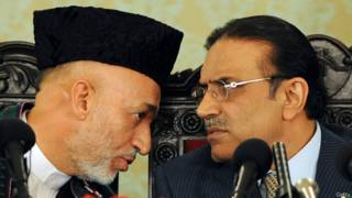 हामिद करज़ई, आसिफ अली ज़रदारी