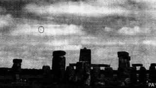 НЛО над Стоунхенджем