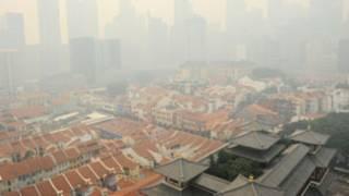 الضباب الدخاني في سينغافورة