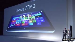 На выставке новой продукции Samsung