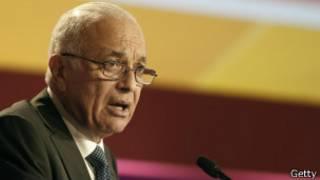 الأمين العام لجامعة الدول العربية، نبيل العربى