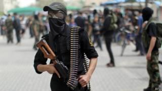 مسلح من حركة الجهاد الإسلامي
