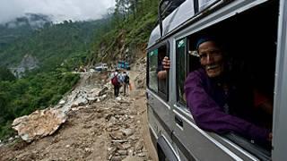 Enchentes na Índia | Foto: AFP