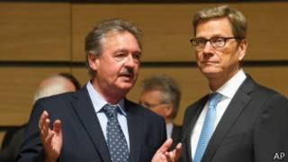 Европейские министры в Люксембурге