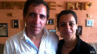 Мохсен Махмальбаф и его жена
