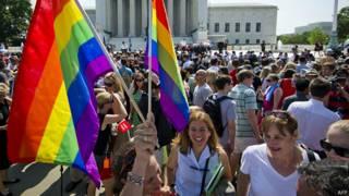 السماح بزواج المثليين في عموم الولايات الأمريكية