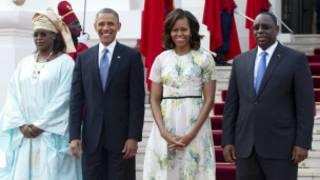 Shugaba Obama da mai masaukinsa Macky Sall