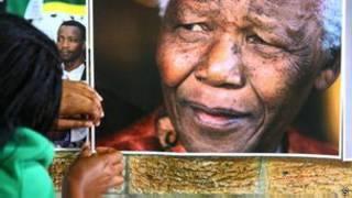 Tsohon shugaban kasar Afrika ta Kudu, Nelson Mandela