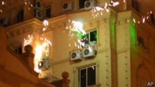 काहिरा में प्रदर्शन