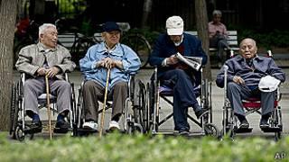 चीन में बुज़ुर्ग