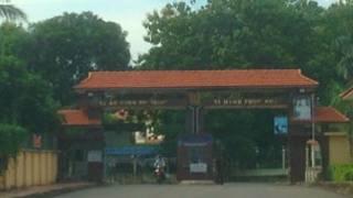 Cổng vào nhà tù Xuân Lộc