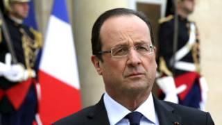 Francois Hollande na Faransa