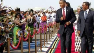 Shugaba Obama a Tanzania