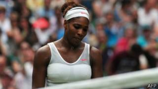 Serena Williams Wimbledon'da elendi