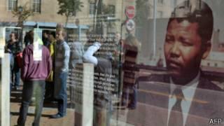 Monumento dedicado a Mandela em Pretória (AFP)