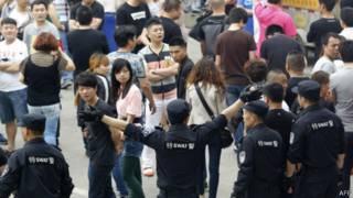 Protes di Cina