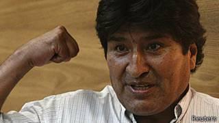 O presidente da Bolívia, Evo Morales (Reuters)