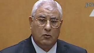 Adly Mansour, umukuru w'igihugu mfatakibanza wa Misiri