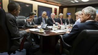 Shugaba Obama da manyan jami'an fadar White House