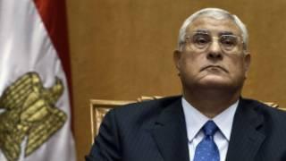 Interim President Mansour