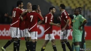 لاعبو مصر