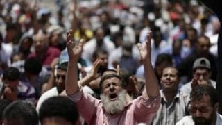 Marchas en defensa de Morsi