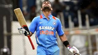 भारतीय क्रिकेटर विराट कोहली