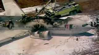 San Francisco plance crash
