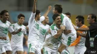 فرحة شباب العراق