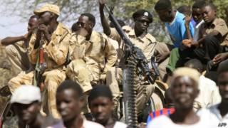 جنود سودانيين في دارفور