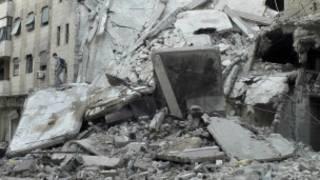 حمص تعرضت لقصف عنيف