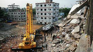 Derrumbe en Bangladesh
