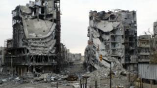 دمار في حمص