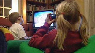 兒童看電視