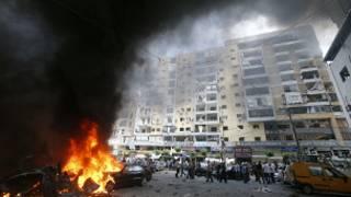Ta'adin da harin ya yi a Beirut