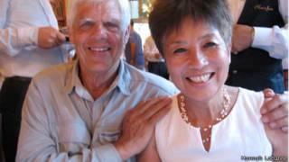 Hai ông bà Tom Miller và Trần Tương Như