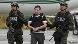 Даниэль Баррера перед экстрадицией