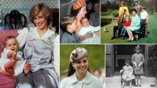 Mães da família real britânica | Foto: BBC