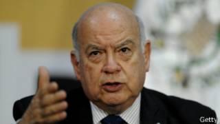 secretario general de la OEA, José Miguel Insulza