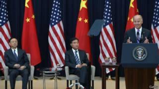 Phó tổng thống Joe Biden phát biểu khai mạc Đối thoại Mỹ-Trung thường niên