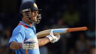 भारतीय क्रिकेट टीम के कप्तान महेंद्र सिंह धोनी