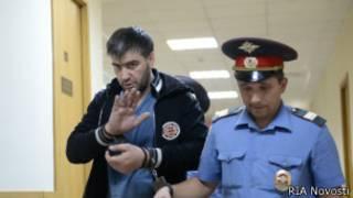 Закарья Гаджиев в суде