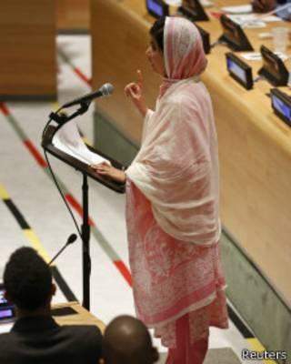 Выступление Малалы в ООН