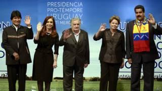 Mercosul. AP