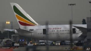 El avión de Ethiopian Airlines involucrado en el incidente