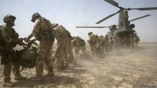 Binh sỹ Anh tại chiến trường Afghanistan (2007)
